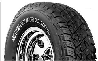 Sierradial A/T Plus Tires